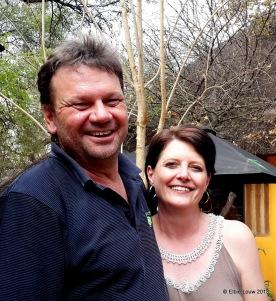 Ruaan and Amanda van den Berg