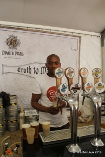 Devil's Peak had four beers on tap