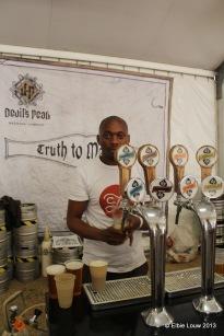 Devil's Peak had four beers on tap