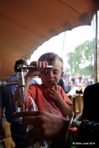 Pouring beer is child's play